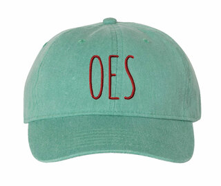 OES Mod Pigment Dyed Baseball Cap