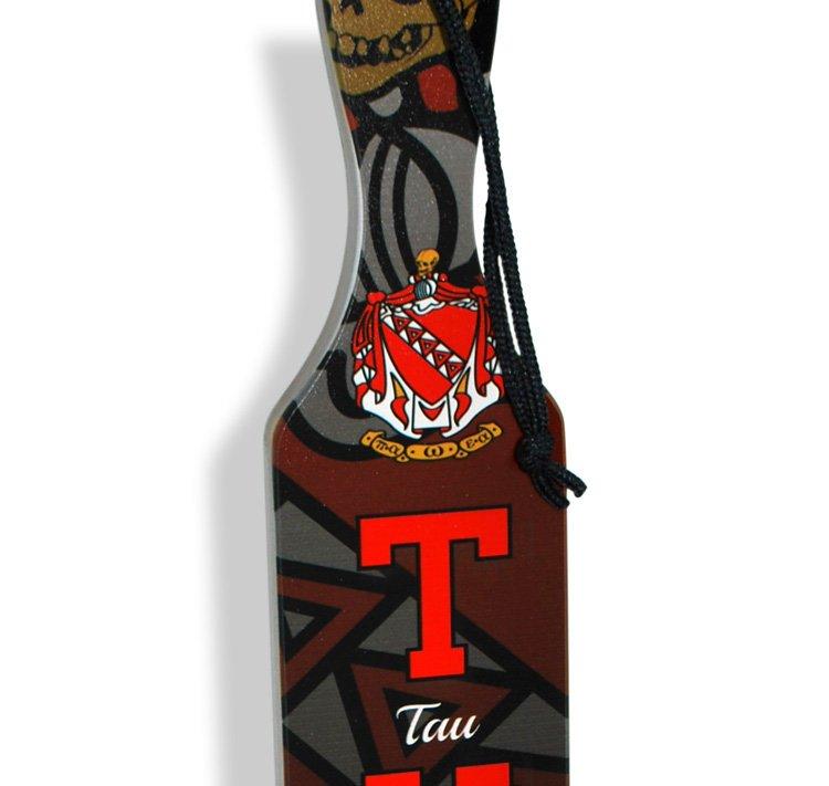 Full Color Crest - Shield Greek Paddles