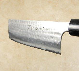 Anryu Blue #2 Hammered Nakiri 165mm