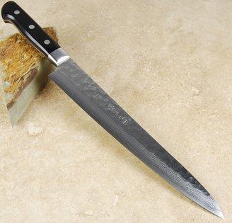 Kikuichi Warikomi Damascus Sujihiki 240mm