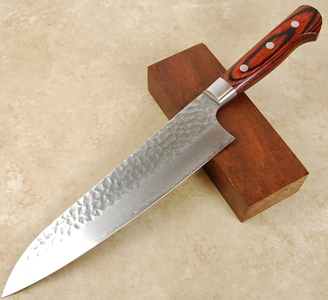 Takayuki Damascus Hammered Gyuto 210mm