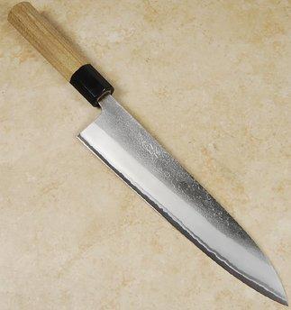 Yahiko White #2 Nashiji Gyuto 210mm