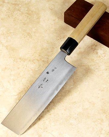 Konosuke Fujiyama Blue #2 Nakiri 180mm