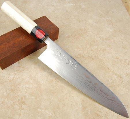 Tanaka Damascus Gyuto 210mm