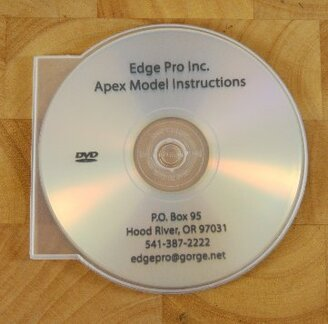 Edge Pro Apex Instructional DVD