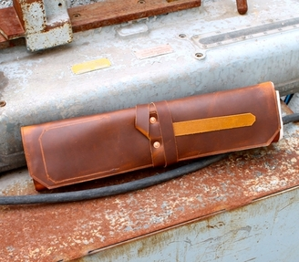 Jaw Leather Knife Roll Small
