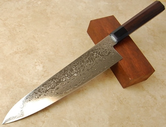 Kikuichi Swedish Warikomi Damascus Gyuto 240mm