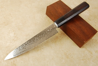 Kikuichi Swedish Warikomi Damascus Petty 150mm