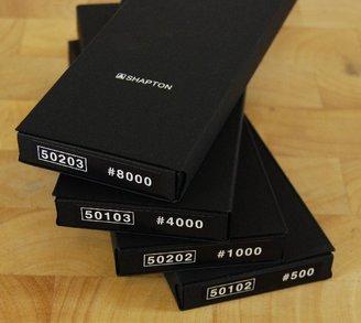 Shapton Glass 4pc Set 500x, 1k, 4k, 8k