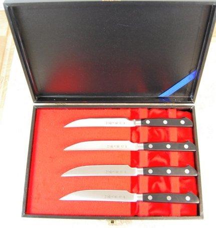 Tojiro DP Steak Knife 4-Pc Set