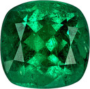 Amazing Loose Emerald Columbian Gem in Cushion Cut, 8.3 x 8.0 mm, 2.27 Carats - With CDTEC Certificate