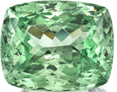 Extremely Rare Color in Natural Vanadium Chrysoberyl Gem in Cushion Cut, 17.11 x 13.81mm, 20.99 carats with GIA Certificate - SOLD