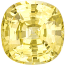 Breathtaking GIA Unheated Yellow Sapphire in Strong Pure Yellow Color in 11.9 x 11.7 mm, 8.48 carats - GIA Certified