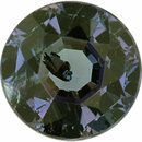 Faceted Alexandrite Loose Gem in Round Cut,  Vibrant Blue Green to Light Purple Pink, 3.97 mm, 0.29 Carats