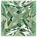 Incredible Size! Great Cut and Clarity, Fabulous Green Beryl Natural Unheated Gemstone, Princess Cut, 54.65 carats -- SOLD