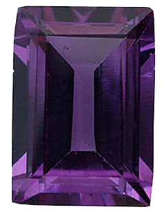 Imitation Alexandrite Cushion Cut Gems