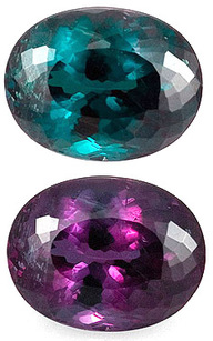 Color Change Genuine Alexandrite with GIA Cert, Best Quality GEM, Large Clean Oval Cut 1.43 carats for SALE - SOLD