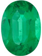 Grade AA - Oval Genuine Emerald 4.00 x 3.00 mm to 7.00 x 5.00 mm