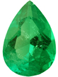 Grade AA - Pear Genuine Emerald 4.00 x 3.00 mm to 8.00 x 6.00 mm