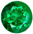 Grade AAA - Round Genuine Emerald 1.00 mm to 6.00 mm