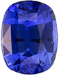 GIA Certified Gorgeous Blue Color in Sapphire Cushion Cut, Open Rich Medium Blue, 10.1 x 7.7 mm, 3.89 carats