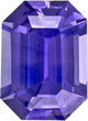 GIA Sapphire Loose Gem in Rich Blue Purple Color, 6.7 x 4.8 mm, 1.02 Carats - With GIA Certificate