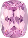 Spinel Pure Pink Loose Gem in Cushion Cut, Hot Stone in 7.9 x 5.8 mm, 1.5 carats