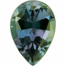 Quality Alexandrite Loose Gem in Pear Cut, Vibrant Blue Green to Light Pink Purple, 6.11 x 4.28  mm, 0.53 Carats