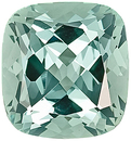 Majestic Bluish Green Color, Unheated Green Beryl Natural Gem, Antique Cushion Cut, 8.09 carats--SOLD--
