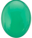 Grade AAA CHRYSOPRASE Oval Cabochon - Calibrated