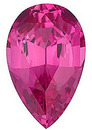 Grade GEM CHATHAM CREATED PINK SAPPHIRE Pear Cut Gems  - Calibrated