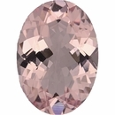 Hard to Find Morganite Loose Gem in Oval Cut, Light Purple Pink, 14.03 x 9.96 mm, 4.45 Carats