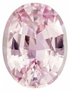 GIA Certified Padparadscha Sapphire - No Heat,  Super Lively in Oval Cut, Soft Peach Pink Color, 10.77 x 8.14 x 4.86 mm 3.51 carats