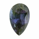 Dazzling Alexandrite Loose Gem in Pear Cut, Vibrant Green Blue to Vibrant Pink Purple, 6.34 x 4.04  mm, 0.51 Carats
