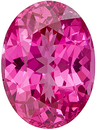 Killer Hot Pink Mahenge Loose Spinel in Oval Cut, 8.4 x 6.2 mm, 1.79 carats