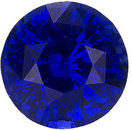 Great Choice for Beautiful Loose Sapphire Engagement Stone. Great Color, Round Cut 6mm, 1.28 carats
