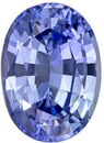 Great Buy in Unheated Sapphire Oval Cut in Cornflower Blue, 10.16 x 7.35mm, 3.13 carats - GIA Certificate