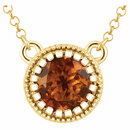 14KT Yellow Gold Citrine