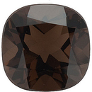 Grade AAA - Antique Square Cut Smokey Quartz 6.00 mm