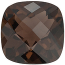 Grade AAA - Checkerboard Antique Square Smokey Quartz 5.00 mm to 12.00 mm