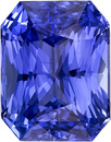 Stunning Blue Sapphire Gem in Radiant Cut, Rich Cornflower Color with GIA Cert. 11.78 x 9.15 x 6.95 mm, 7.48 carats