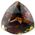Gorgeous Multi - Parti Colored Tourmaline Gemstone 9.47 carats