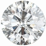 0.25 Carat Total Weight Genuine Diamond Parcel 3 Pieces, 2.74 - 3.23 mm Size Range  SI1 Clarity - I-J Color
