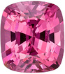 Unheated, Lively Burmese Rosy Pink Spinel Gemstone for SALE, Cushion Cut, 1.99 carats - SOLD