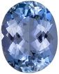 Superbly Saturated Loose AquamarineGem in Oval Cut, Super Rich Blue, 9 x 7.1 mm, 1.78 carats - SOLD