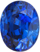Top Gem Ceylon Blue Sapphire Loose Gemstone in Oval Cut, Vivid Blue Color in 11.24 x 8.88 mm, 5.49 Carats - With GRS Certificate - SOLD