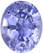No Heat Periwinkle Blue Sapphire for Sale in Oval Cut in 8.8 x 7.2 mm, 2.44 carats - GIA Cert. - SOLD