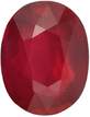 Low Price Ruby Gem Loose Stone in Oval Cut, Vivid Red Color in 8.1 x 6.2 mm, 1.99 Carats - SOLD