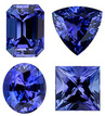 TANZANITE  Standard Sizes