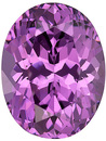 Great Looking Stone! Vivid Purple Spinel Genuine Gem from Tanzania, Oval Cut, 2.58 carats